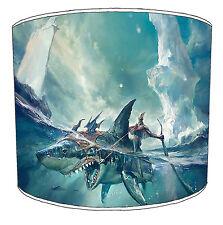 Great White Shark Lampshades Ideal to Match Shark Wall Murals & Bull Shark Duvet