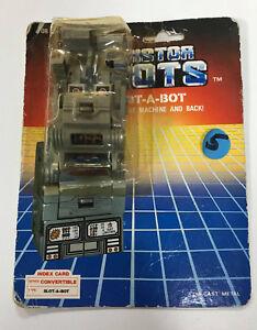RARE Transistor Robots SLOT-A-BOT Robot 1985