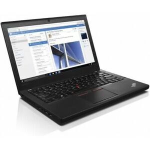 "Lenovo ThinkPad X260 Notebook 12.5"" Core i3-6100U, 4 GB, SSD 256 GB. Grado B"