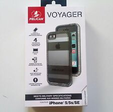 Pelican Voyager Case Holster Screen iPhone 5 5s SE Clear / Gray Brand New OEM