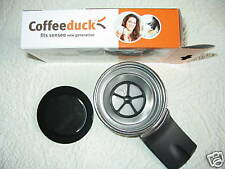 Coffeeduck, Kaffeepad für Senseo HD 7826, Dauerkaffeepad, wiederbefüllbar *