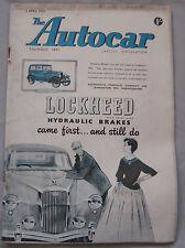Autocar 6/4/1956 featuring Nash Rambler Station Wagon road test