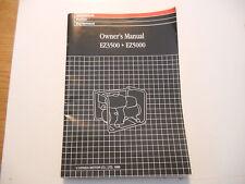 Honda Owners Manual 1995 EZ3500 EZ5000 Generators