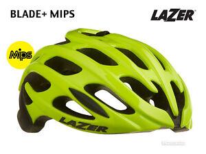 NEW Lazer BLADE+ MIPS Road Cycling Helmet : FLASH YELLOW