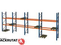 11,3 Meter Palettenregal | gebraucht wie neu | 1000 KG pro Palettenplatz