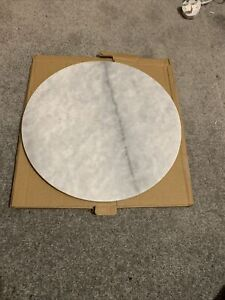 ROUND MARBLE WORKTOP SAVER NEW AND UNUSED BUT PLEASE READ DESCRIPTION