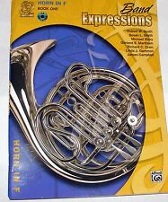 Band Expressions for Horn In F Book 1 New French