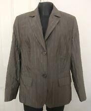 Barbara Lebek Green Khaki Jacket UK 18 RRP £159