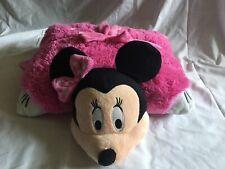 "PILLOW PETS Disney Minnie Mouse Large 18"" Pink Polka Dots Plush (T)"