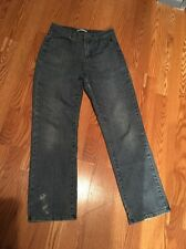 Women's Lee Relaxed Fit Straight Leg Jeans, Medium Blue Denim, Size 6