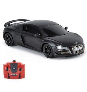 CMJ RC Cars Audi R8 GT, offizielles Lizenziertes Ferngesteuertes Auto (Schwarz)