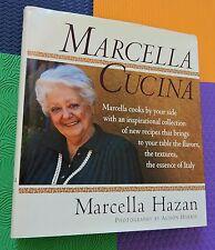 MARCELLA CUCINA Italian Cookbook large HARDBACKL/DJ Marcella Hazan recipes