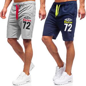 Kurzhose Sporthose Shorts Bermudas Kurze Aufdruck Jogging Herren Mix BOLF Sport