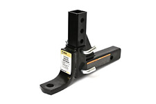 Adjustable Hitch Tow Ball Mount Receiver Carry Towing Car Truck Trailer Camper
