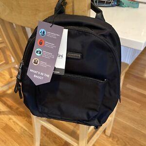 NWT Baggalini  Central Park Black Backpack Retail: $98.00  RFID-Detachable Wrist