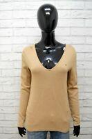 Maglia Maglione Donna Tommy Hilfiger Taglia M Pullover Sweater Woman Felpa Lana