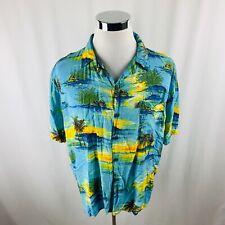 Pineapple Connection Short Sleeve Hawaiian Shirt Mens XL X-Large