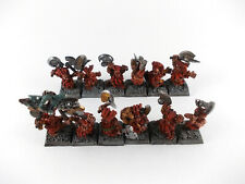 12 x Slayer der Zwerge - gut bemalt Metall -