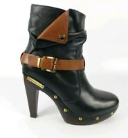 BCBGeneration High Heel Leather Ankle Boots Uk 5 Eu 38