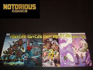 Teenage Mutant Ninja Turtles 51 52 53 54 55 Complete Comic Lot Run Set TMNT A