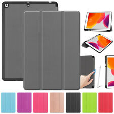 "For iPad 10.2"" 7th Gen 2019 Luxury Magnetic Smart Leather Case Flip Stand Cover"