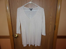 """A Pea In The Pod Maternity Top,Size Sm,3/4 """" Sleeves,Scoop V-Neck,Made USA"""