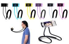 SUPPORTO SMARTPHONE CELLULARE TABLET COLLO SELFIE PIEGHEVOLE FLESSIBILE 360°