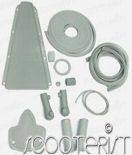 Vespa Vbb Vba Vbc Vna Vnb VL 150 125 Super Sprint Grey Complete Rubber Kit