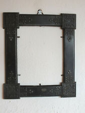 Kleiner Rahmen aus Metall - Jugendstil - Ranken - schwere stabile Ausführung