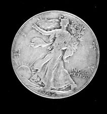 Walking Liberty, Silver 1/2 Dollar coin, 1942 circulated-ungraded. 90% silver.