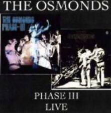 Osmonds - Phase Iii - Live (NEW CD)