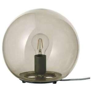 Beautiful FADO Table lamp, grey 25 cm