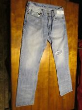 MEN'S BULLHEAD JEANS, COLOR BLUE, SIZE 32X30.