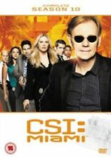 CSI Miami: The Complete Season 10 DVD (2013) David Caruso - New and Sealed