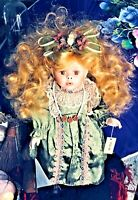 💚 Meet Lula Our Spirited Vintage KISS ME She's Handful Bohemian Gal Vessel Doll