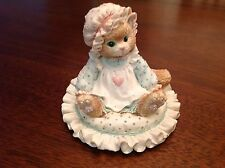 "Enesco Calico Kitten ""Just Thinking About You"" Figurine"