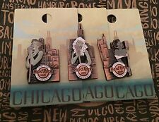 Hard Rock Cafe HRC Chicago pindulge 2015 Lapel Pin Set Limited Edition Puzzle