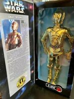 "STAR WARS Collector Series C-3PO DROID 12"" Action Figure 1997 Kenner Hasbro NEW"