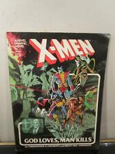 Marvel Graphic Novel #5 X-Men God Loves, Man Kills 5th Printing~