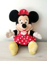 Minnie Mouse Plush Doll With Disneyland Tags - Vintage