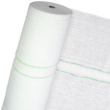 Schattiernetz Sichtschutz Sonnenschutz Schattierungsgewebe HaGa® 60% 3mx25m weiß