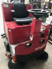 """Used Factory Cat Xr 40"""" Disk Rider Floor Scrubber - Sweeper"""