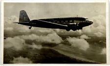 Cartolina Aviazione - Aereo In Volo KLM - Viaggiata 1937