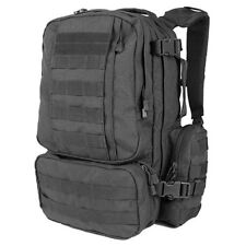 Condor 169 MOLLE PALS Black Convoy Outdoor Hiking Pack Tactical Modular Backpack