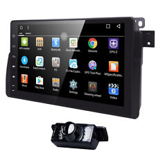 "9"" Android 6.0 Car GPS Navigation Radio Stereo wifi 3G DAB For BMW 3 Series E46"