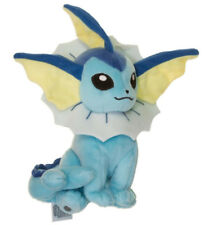 Official Tomy Pokemon Vaporeon Stuffed Plush Doll  Eeveelution Series Cute Gift
