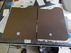 "RV Sink Cover / Cutting Boards (2).13"" X 11"" X 1/4"".  New, Dark Brown. Sturdy"