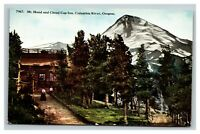 Vintage Early 1900's Mt. Hood Cloud Cap Inn Columbia River Oregon UNPOSTED