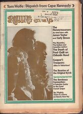 Rolling Stone January 4 1973 James Taylor, Carly Simon w/ML 121316DBE