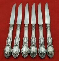 6 Sharon Silverplate 1847 Rogers Fruit Knives 1910 Pattern  10807